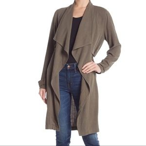 ELODIE Olive Green Trench Coat